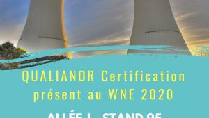 Qualianor au WNE 2020 world nuclear exhibition