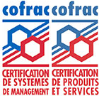Logo certification Cofrac
